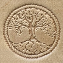 Leather stamp Tree of Life