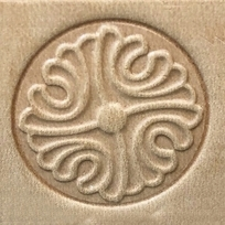 Leather stamp Ornament