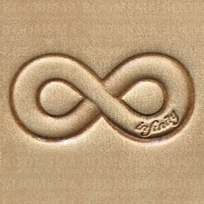 Leather stamp Infinity