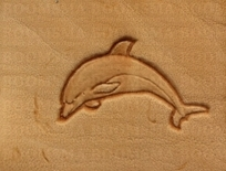 2D & 3D stamps fish, wild animals dolphin