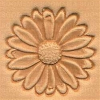 2D & 3D stamps flowers daisy