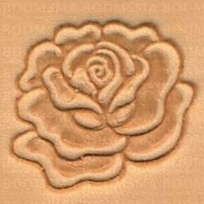 2D & 3D stamps flowers rose