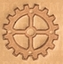 gear with 4 spokes