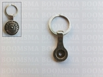 Adapters for screwback concho: keychain