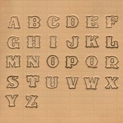 Alphabet set normal medium 18 mm (per set) - pict. 1