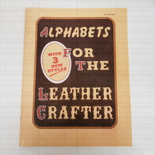 Alphabets for the Leather Crafter 47 pages (Language English) - pict. 1