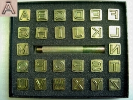 Alphabetset blok 12 mm (per set)
