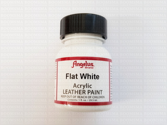 Angelus paintproducts Flat White Acrylic leather paint  - pict. 2