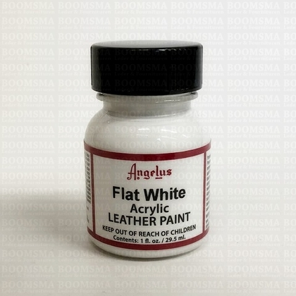 Angelus leather paint flat white - pict. 1
