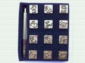 Animal stamps set max. size 15 × 15 mm (per set) - pict. 1