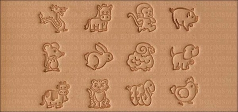 Animal stamps set max. size 15 × 15 mm (per set) - pict. 2