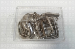 Assorti Buckles  10 pieces