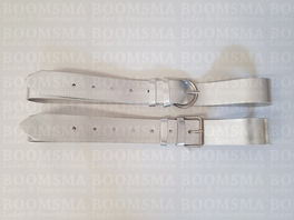 Belt Gold & Silver 38 mm LIMITED Silver (per piece)