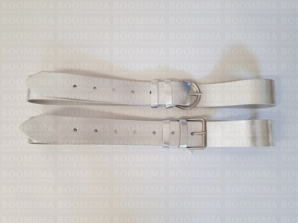 Belt Gold & Silver 38 mm LIMITED Silver (per piece) - pict. 1