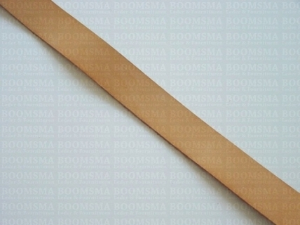 Belts/straps of veg-tanned, leather single bends natural - pict. 1