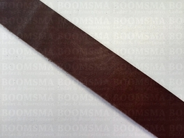 Belts/strips of veg-tanned leather sides Dark Brown dark brown