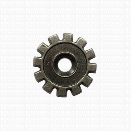 Bezel concho (gears) cog closed Ø 20 mm - pict. 1