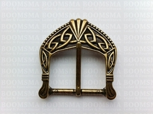 Buckle Celtic antique brass plated 38 mm (ea) - pict. 1