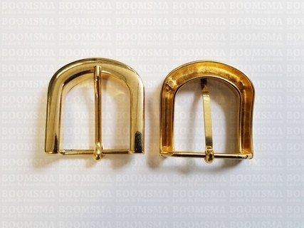 Buckle gold 30 mm (per 5 pieces) - pict. 1