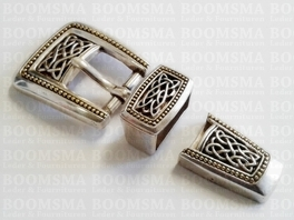Buckle set: Celtic 20 mm (ea)