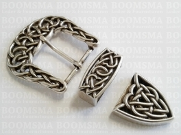 Buckle set: Celtic 38 mm (ea)