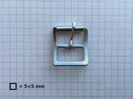 Center bar roller buckles silver 19 mm (ea) - pict. 2