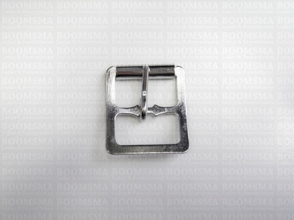 Center bar roller buckles silver 19 mm (ea) - pict. 1