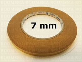 Double sided tape width 7 a 8 mm, 50 meters (per rol)