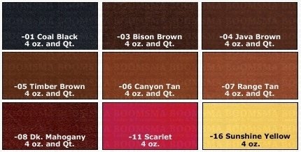 Eco-Flo Leather dye - pict. 2