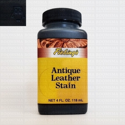 Fiebing Antique leather stain black 118 ml  - pict. 1