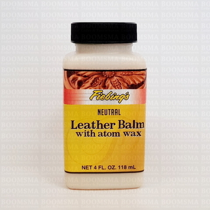 Fiebing's leather balm with atom wax 118 ml (4 oz) (ea) - pict. 1