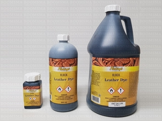 Fiebing's Pro (Oil) Dye GALLON colour:black content: 3,78 liter - pict. 2
