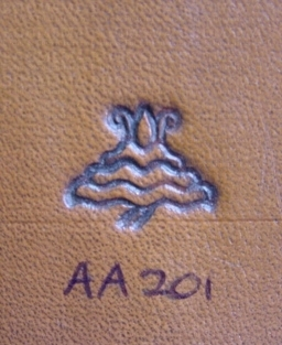 Figure stamps large AA201 (ea) - pict. 1