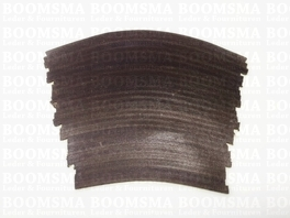 Heel covering  15,5 cm x 11,4 cm (brown) per pair!