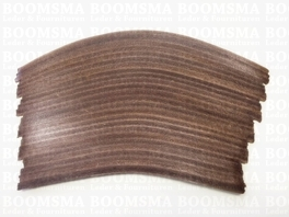 Heel covering  18 cm x 10,4 cm (brown) per pair!