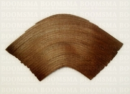 Heel covering  25 cm x 9,5 cm (brown) per pair!