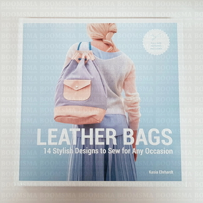 Leather Bags 14 stylish designs to sew for any occasion (Language English) - pict. 1