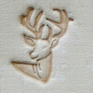 Mini 3D Stamps 'Deer' 12 x 15 mm - pict. 1