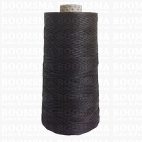 Neverstrand waxed nylon thread (6) 250 gram brown 250 gram approx. 600 meter, THIN (6)