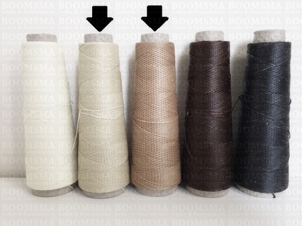Neverstrand waxed nylon thread (6) 50 gram darknatural 50 gram (6) - pict. 2