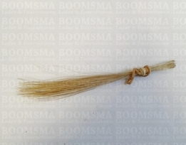 Pighair bristle (Authentic) natural per 20 hairs approx. 12,5 cm smalle haren