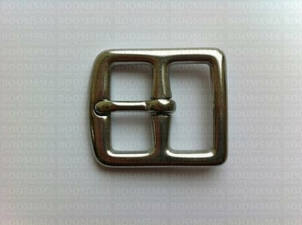 Stirrup belt strap buckle Stainless steel - pict. 3