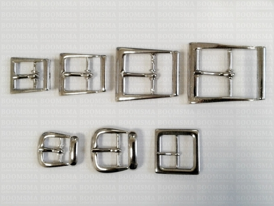 bag buckle dubbel luxe silver coloured - pict. 4