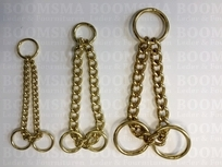 Triangle chain gold