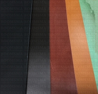 Veg tanned straps coloured thicknes 2 - 2,5 mm - pict. 2