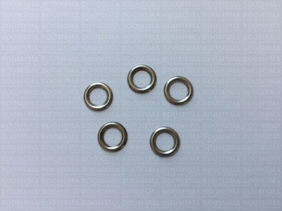 Washers small pack 100 pcs silver washer RA 1054 for eyelet 3/16 inch small - pict. 1