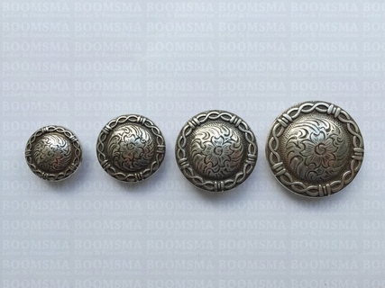 Concho: Western conchos  screwback silver - pict. 2