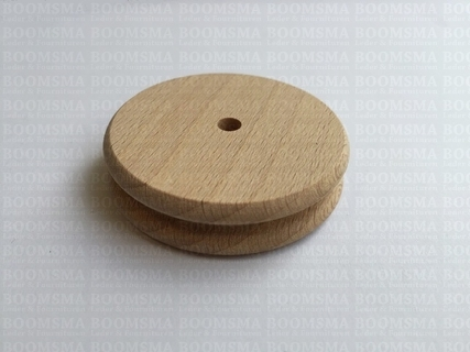 Wooden edge slicker single Ø 54 mm - pict. 2