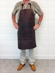 Work apron leather (83 × 61 cm without strap), total waist belt 120 cm (ea) - pict. 2