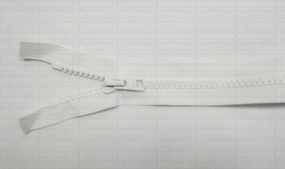 Zippers: Zipper WHITE - pict. 1